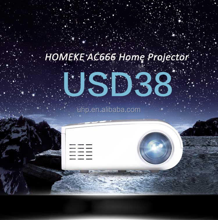 2017 the newest mini Multimedia Cinema Handheld HD 1080p LCD <strong>Projector</strong>