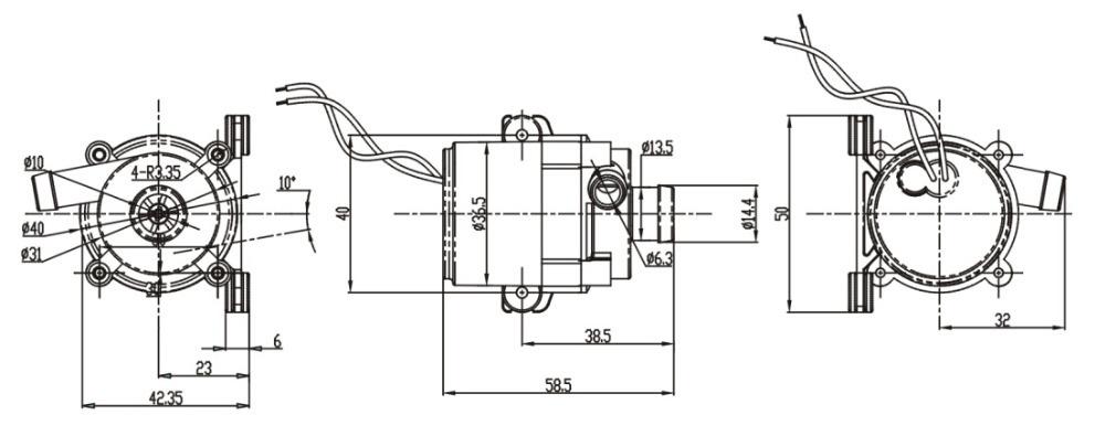 Willpower Super Performance Water Pump 12v 24v Volt Dc