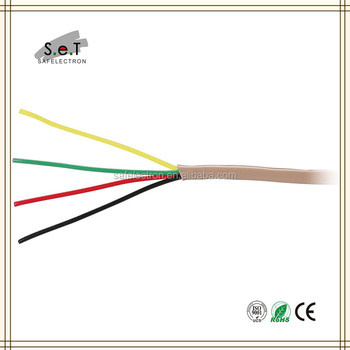 500ft Installation 22/4 Solid Stranded Alarm Wire - Buy Alarm Wire ...