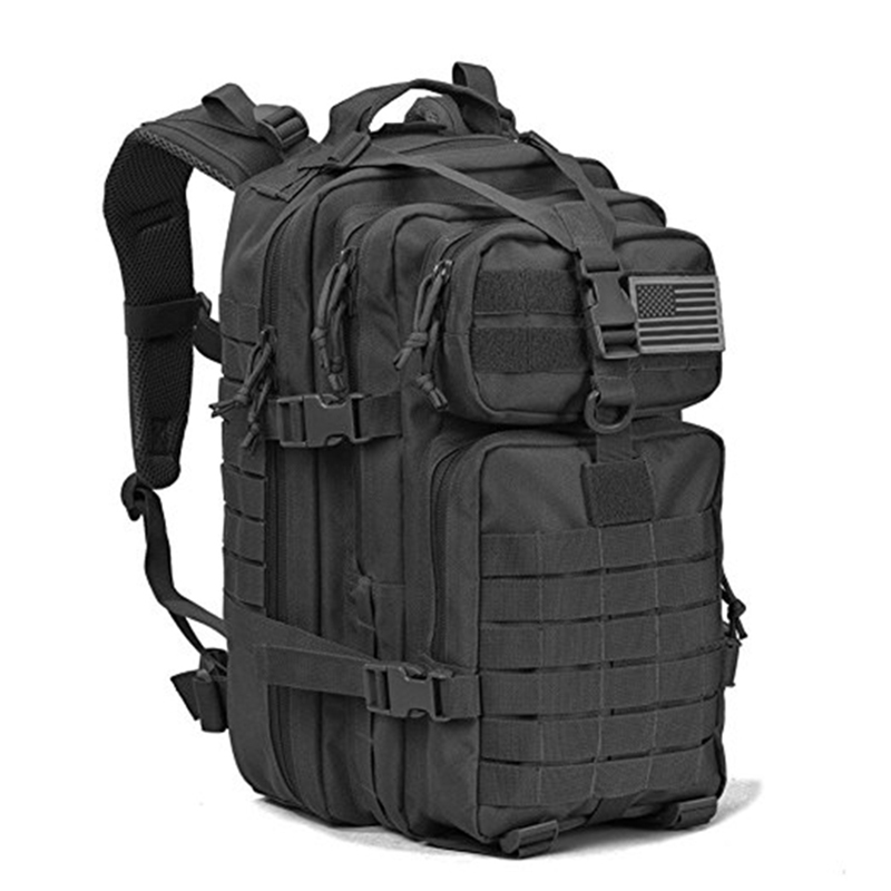 Camping Hiking Walking Travelling Trekking Outdoor Sport 35L Army Molle System Assault Bag Military Tactical Backpack