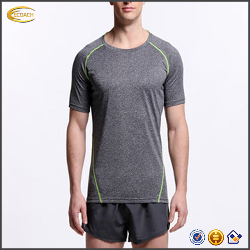 2017 NEW 100 Polyester Sports Running T-Shirt Wholesale Dri Fit Sport T Shirt for men
