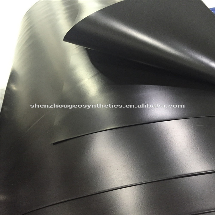 virgin material made ASTM standard fish farm pond liner hdpe geomembrane