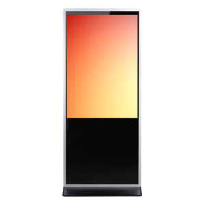 43 Inch Wifi Touch Full Color Super Thin Hotel Lobby Led Display Kiosk