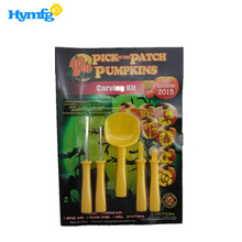HOT VENDER seguro para as crianças 5 pcs <span class=keywords><strong>Halloween</strong></span> pumpkin carving <span class=keywords><strong>kit</strong></span>