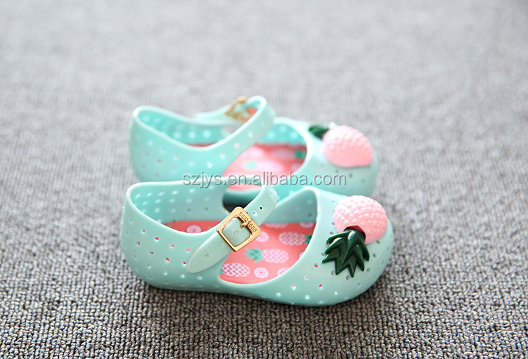 7229b3ba53fe kids jelly sandals shoes baby girls shoes Kids shoes with fruit designs