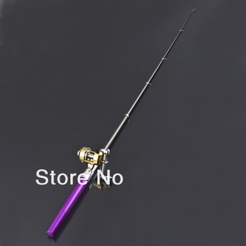 d6076050e2fc Best Gift For Child,Pen Fishing Rod +mini Golden Reel - Buy Fishing  Rod,Fishing Reel,Fishing Tackle Product on Alibaba.com