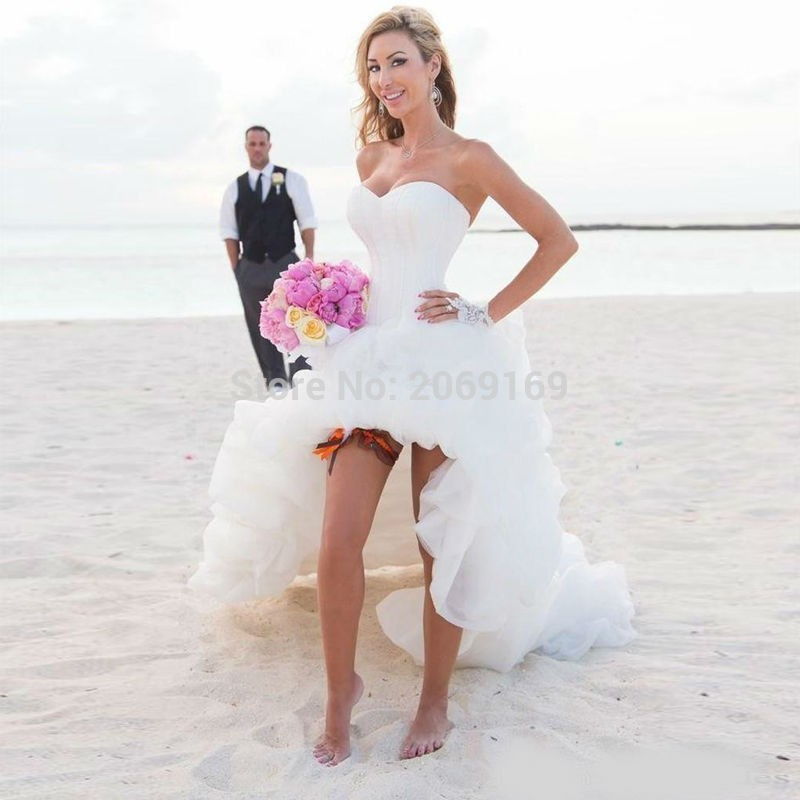 cae1669848e Detail Feedback Questions about New Arrival 2019 Beach Wedding Dress ...
