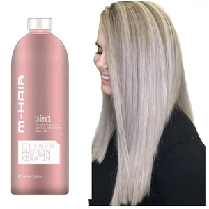 OEM private label professional salon smoothing rebonding best hair straightening cream