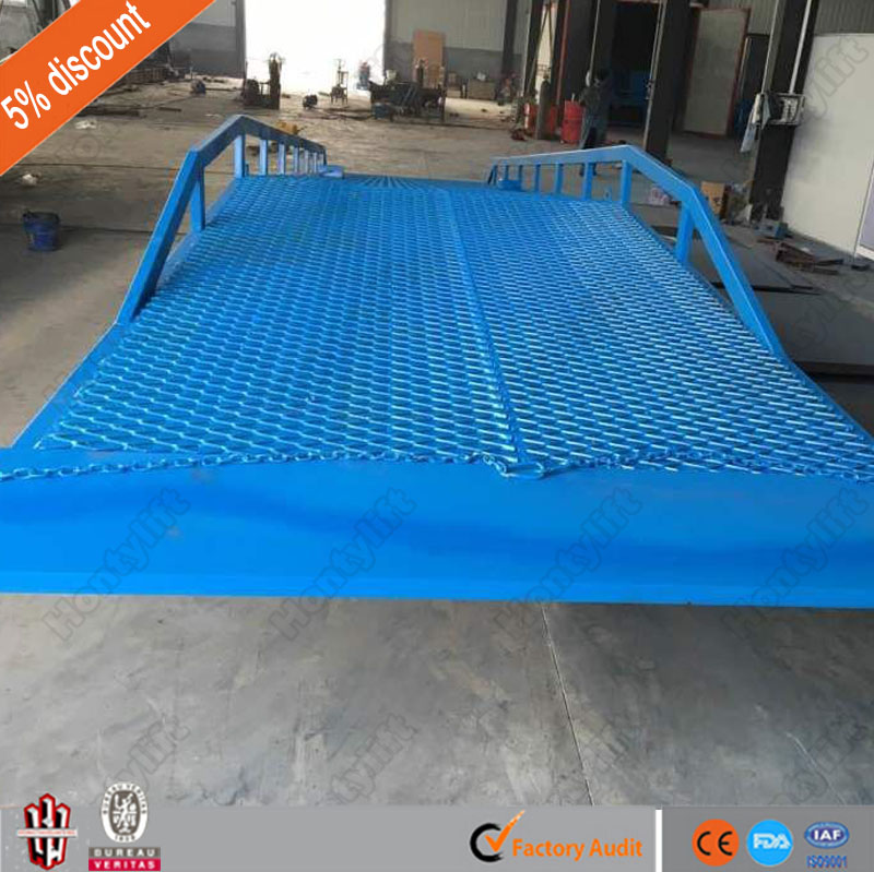 6-15 ton china supplier CE mobile ramp container ramps sale horse trailer ramp