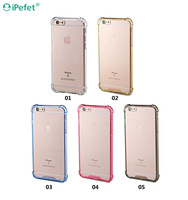 Alibaba Express New Products Bumper Transparent soft TPU case mobile phone For iPhone 6