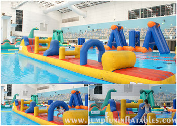 32oz Inflatable Water Challenge Swimming Pool Obstacle Course For Sale Buy Inflatable Water