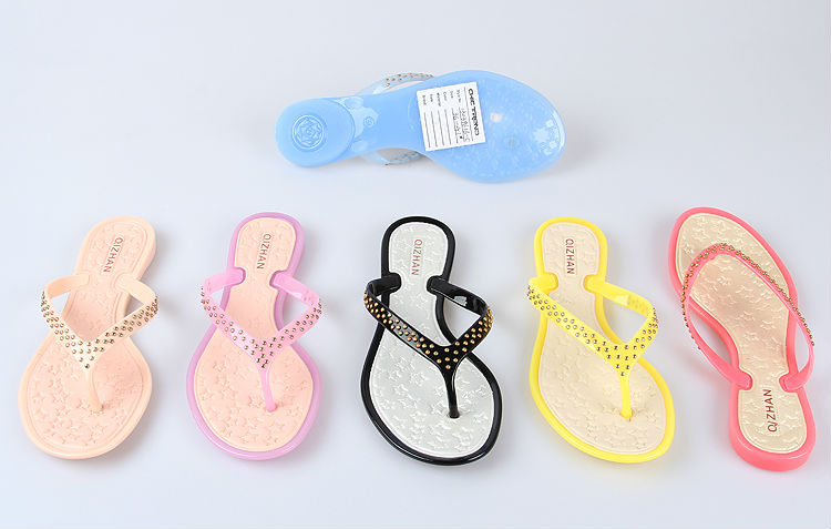 2015 Best Wholesale Lady Beach Use Slippers Elegant Sweet Flip ...