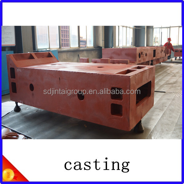QT600 QT500 QT450 material machine tools casting/ foundry made in Shandong China