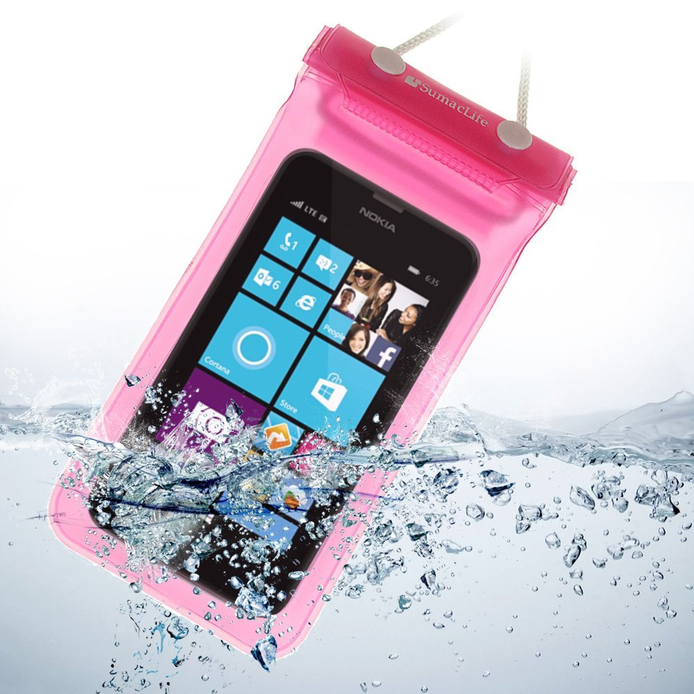 Cheap Lumia 800 Waterproof Find Deals On Line Nokia 620 Magenta Get Quotations Sumaclife Case Pouch Dry Bag For 635 630 Icon