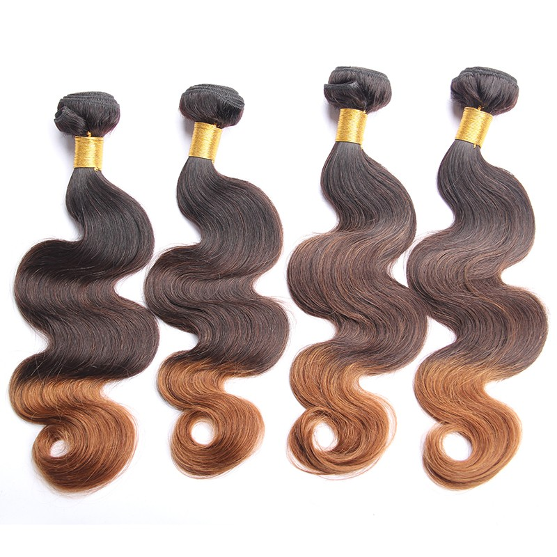 100 Human Ombre Hair Braiding Hair Virgin Brazilian Body Wave Hair