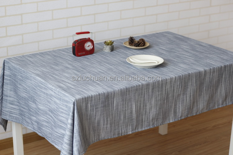 High Quality Simple Style Linen Japanese Table Cloth