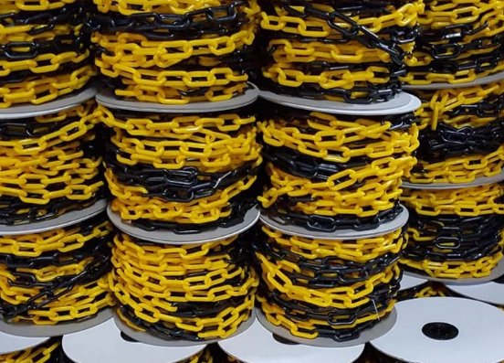 PP 12mm Wholesale coloured Road Plastic Chain