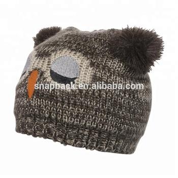 07d05c8060f Factory Wholesale New Year Owl Head Pattern Fancy Baby Hats - Buy ...