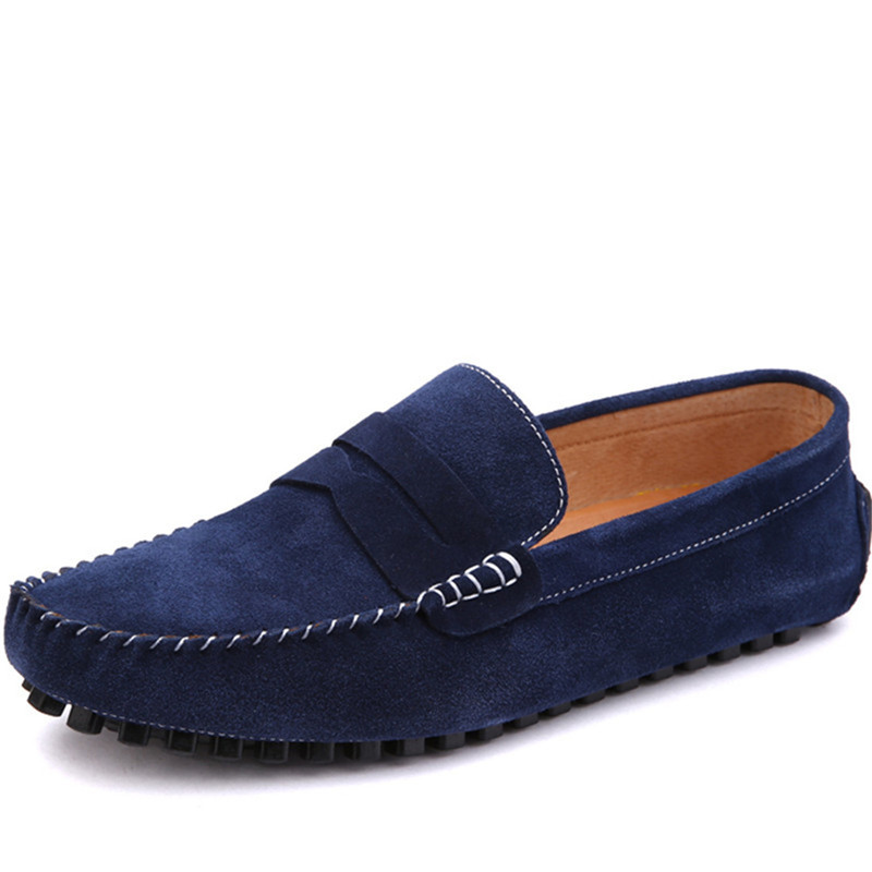 Buy 2015 Spring Men Velvet Shoes Fashion Men 39 S Flats Casual Shoes Men Red Suede Leather Gommini Loafers Moccasin Sapatos Masculinos In Cheap Price On M Alibaba Com