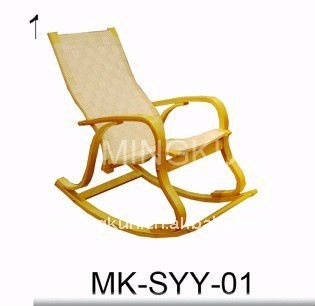 Professional Comfortable Relax Wooden Rocking Chair Leisure Ways Outdoor  Rocking Chair