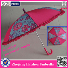 19 inch smart hot seller pink lace parasol wholesale