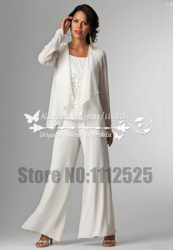 Amp1065 Mother Of The Bride Dresses Pants Suit With Jacket