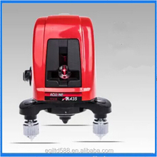 AK435 360 Degree Self- leveling Cross Laser Level Red 2 Line 1 Point