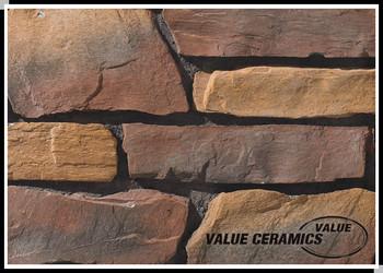 Esterno strutturato piastrelle piastrelle di design da parete per