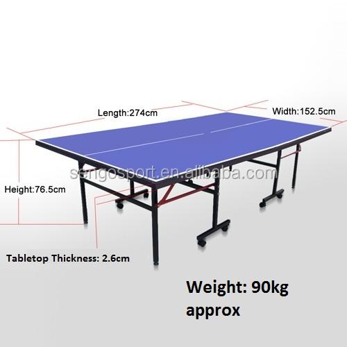 F cil dobrar padr o de t nis de mesa ping pong mesa de pingue pongue mesas de t nis de mesa id - Mesas de pinpon ...