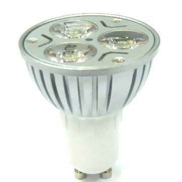high power E27 GU10 GU5.3 MR16 24v 12v 3w solar led spot light