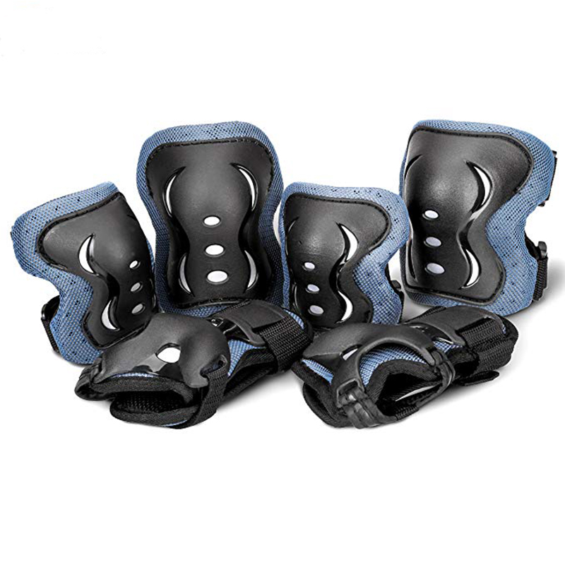 Extreme Sports Adjustable Kids Cycling Roller Skating Knee Elbow Wrist Protective Pads