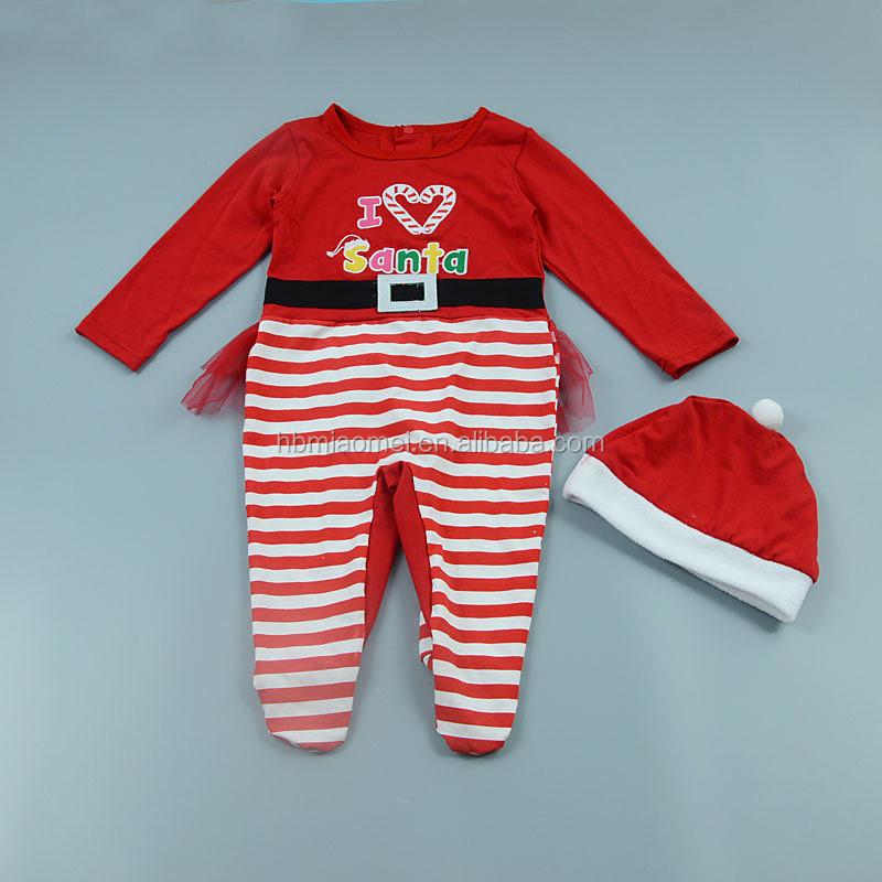 d46eee4da 2017 regalos de navidad mamelucos de bebé trajes de niños ropa de bebé de  manga larga