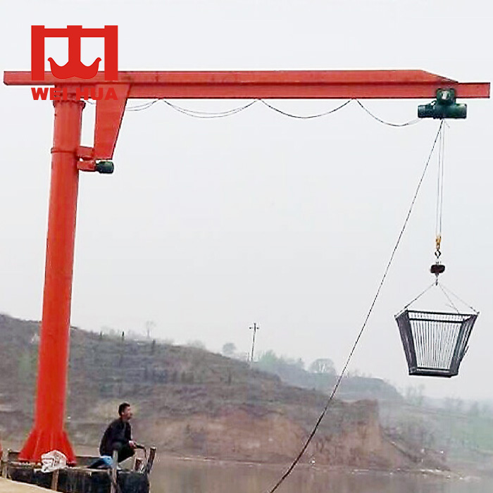 Lowest Price 5 Ton Industrial Use Jib Crane Price Drawing Design With Derricking Jibs