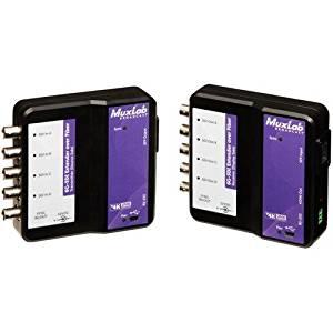 Muxlab 6G-SDI Extender Over Fiber Single-Mode 33000' Optic Kit