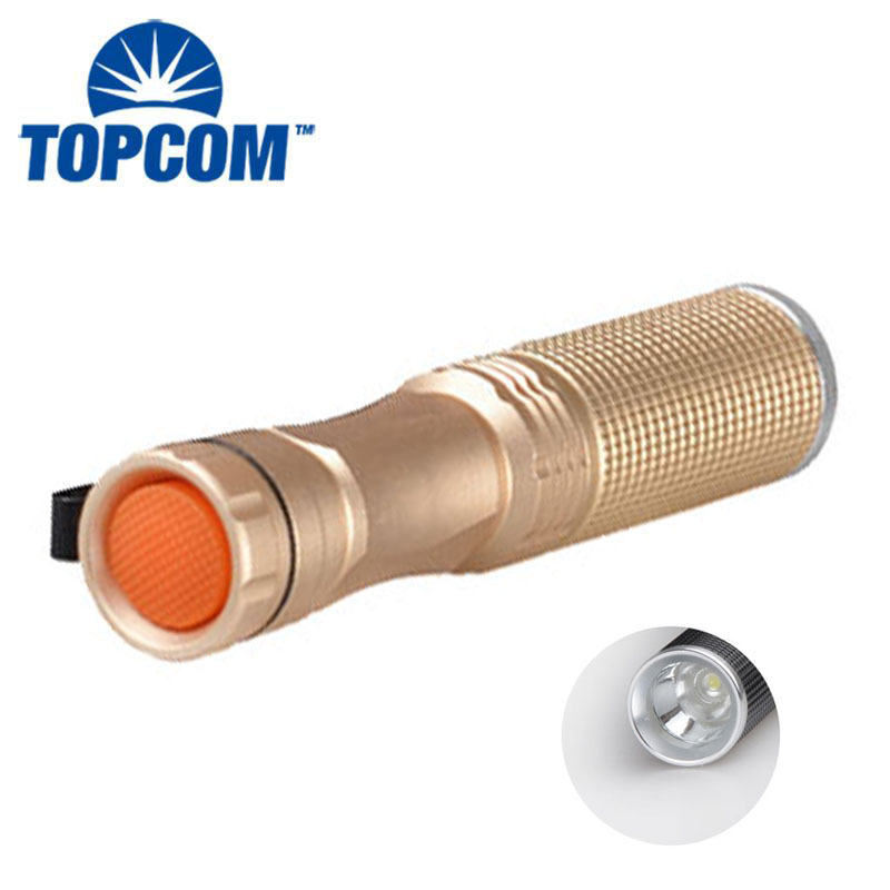 3W 300 Lumens AA battery LED Flashlight Reflector/Torch with White Light