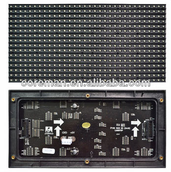 alibaba new product f5 dot matrix indoor smd 5050 injection led module