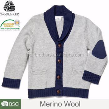 School Cardigan Sweaters For Childrenhooded Kids Winter Cardigan