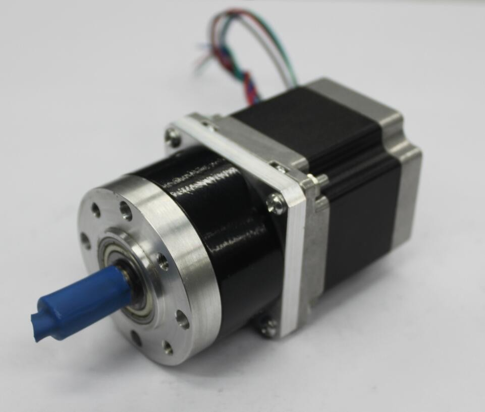 Nema 23 high torque stepper motor with 52mm planetary for Stepper motor gear box