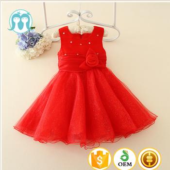 Cheap Red Wedding Dresses Beautiful Net Frocks Images Kids Clothing Tutu Dress Princess Puffy Of