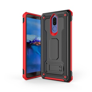 Anccer Phone Cases with Kickstand for Huawei Mate10 lite armor Case Anti-Drop TPU+PC Heavy Duty Full Protect Cover