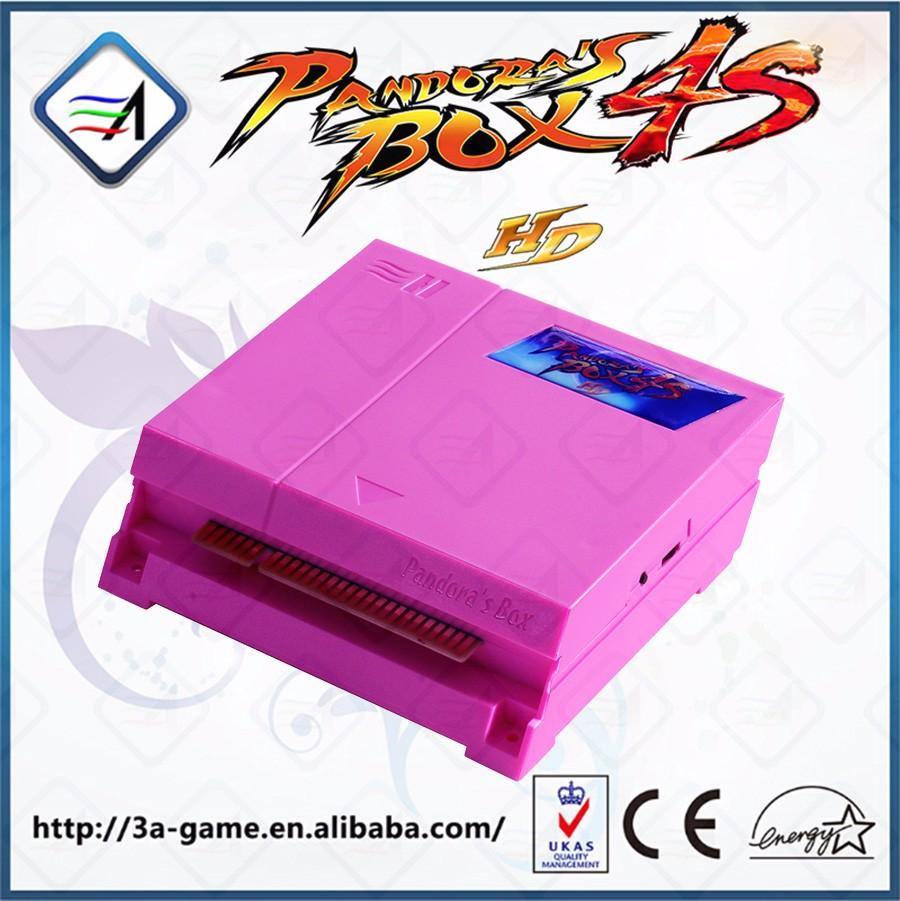 Arcade Game Board For Pandora Box 4s 680 In 1 Jamma Multi Game ...