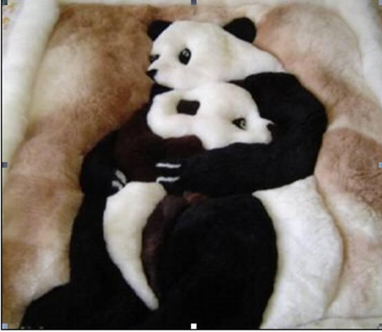 Superb Panda Alpaca Fur Rug   Buy Fur Rug Product On Alibaba.com