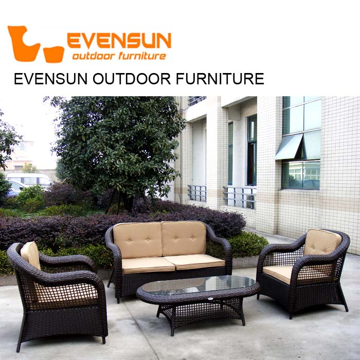 China Cheap Outdoor Furniture Rattan Broyhill Outdoor