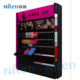 Acrylic And Metal Make Up Stand Modern Nail Polish Boutique Display Shelf Acrylic Cosmetic Floor Standing Display Units OEM ODM