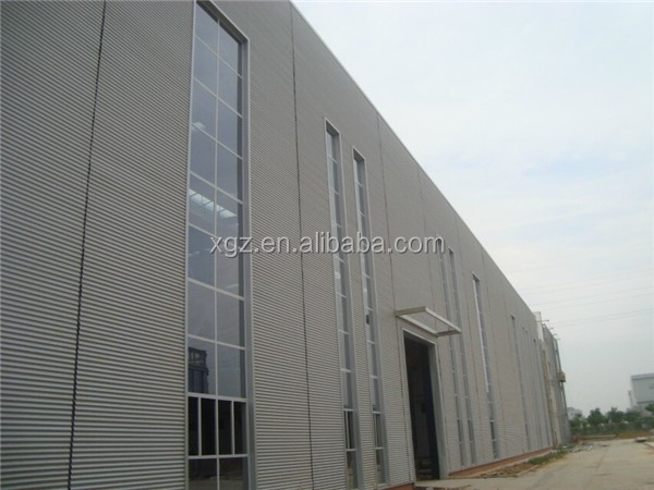 Rockwool Sandwich Panel Construction Design Light Steel Frame Factory Structure Workshop