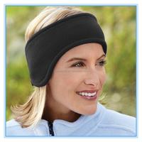 Factory Supply Polar Fleece Earmuffs Hair Band Warm Headband