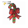Custom Embroidered Patch Sewing Accessories Christmas Sequins Appliques For Clothes