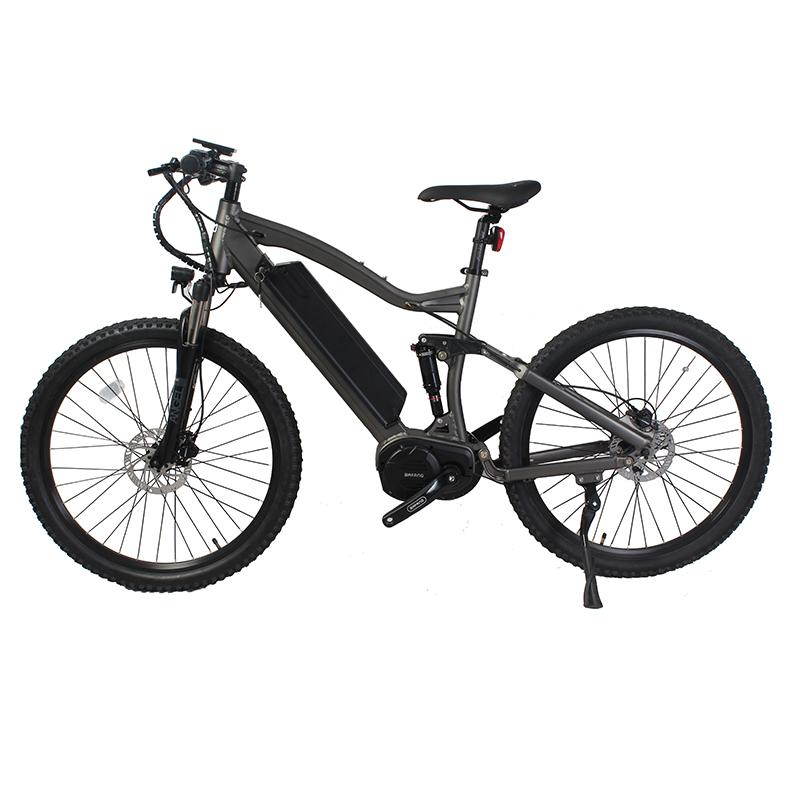 Lithium Battery Powered Bafang M620 Mm G510 1000 Torque Sensor Mid Drive  Motor Full Suspension Mountain Electric Bike 48v 1000w - Buy Electric Bike