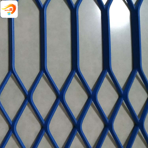 gothic PVC expanded metal sheet mesh for farm fence