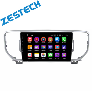 ZETSTECH Android 9.0 Quad Core car dvd player for KIA sportage 2016 2017 2018 KX5 gps navigation stereo 2G RAM head unit